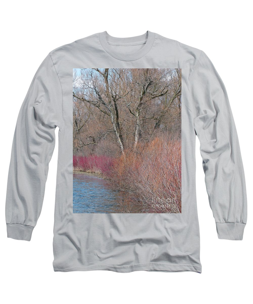 Spring Long Sleeve T-Shirt featuring the photograph Hint Of Spring by Ann Horn