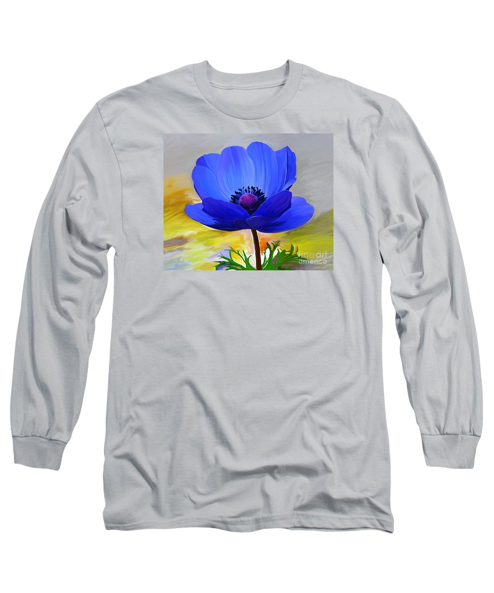 Fine Art Long Sleeve T-Shirt featuring the painting Lord Lieutenant by Patricia Griffin Brett