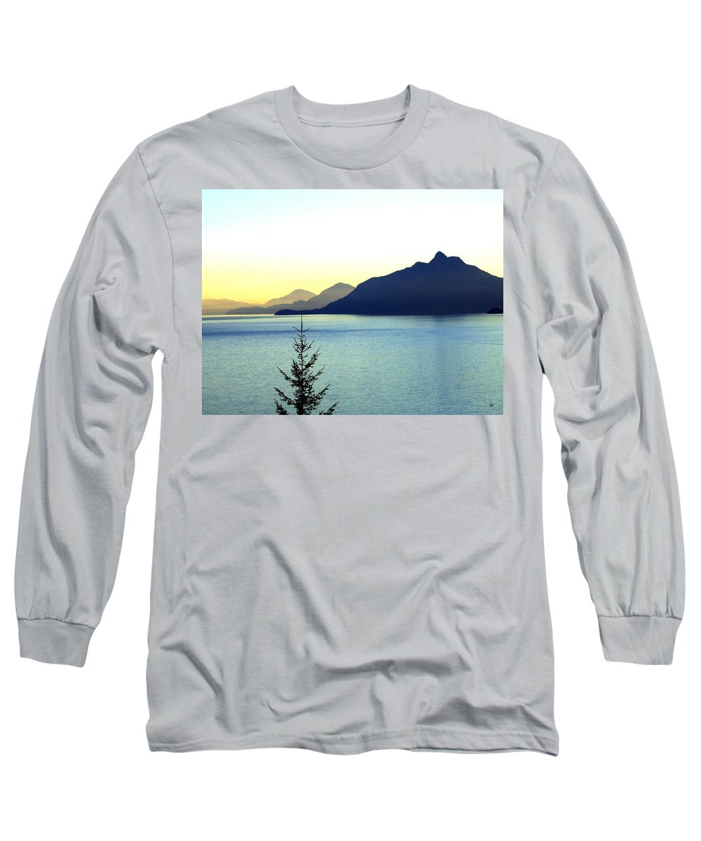Vancouver Long Sleeve T-Shirt featuring the photograph Magnificent Howe Sound by Will Borden