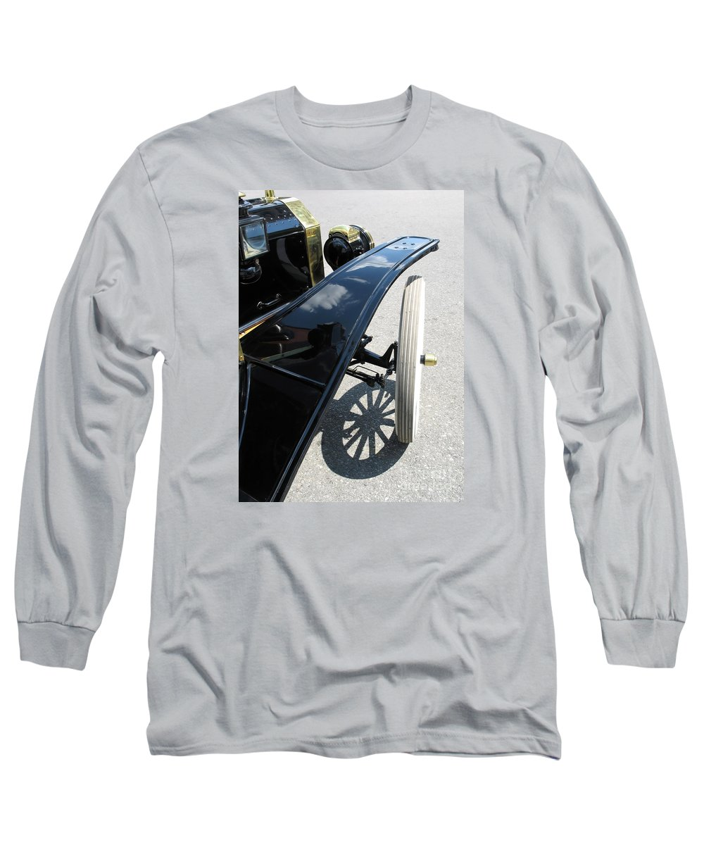 Model T Long Sleeve T-Shirt featuring the photograph Vintage Model T by Ann Horn