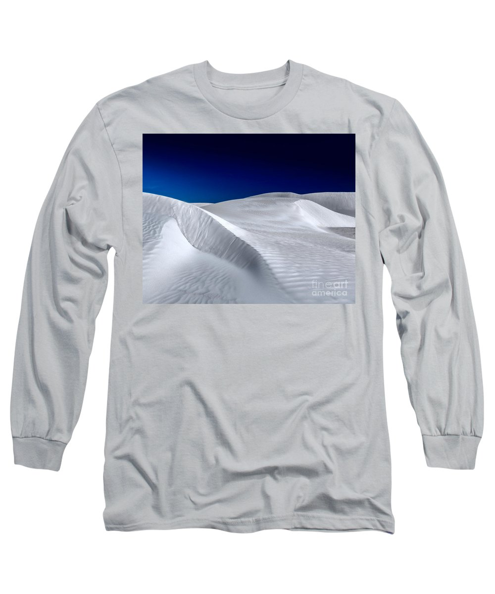 White Sand Dunes Long Sleeve T-Shirt featuring the photograph White Sand Dunes by Julian Cook