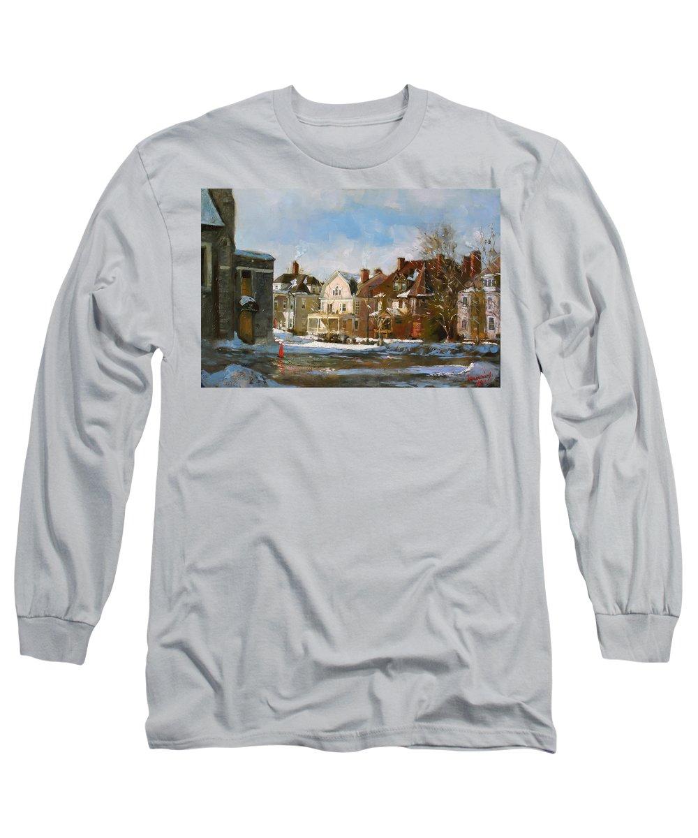 Pylon Paintings Long Sleeve T-Shirts