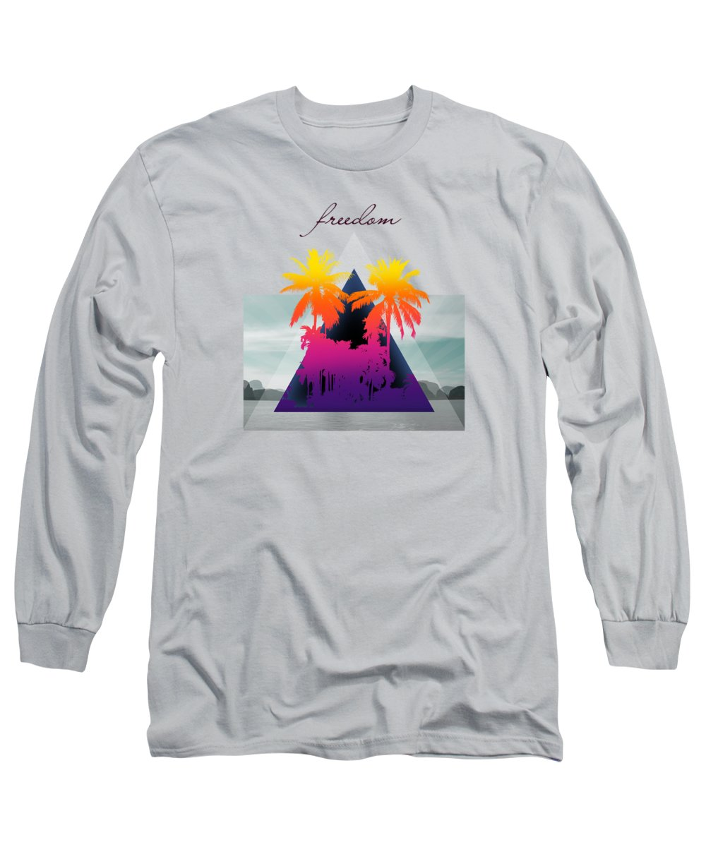 Beautiful Sunset Photographs Long Sleeve T-Shirts