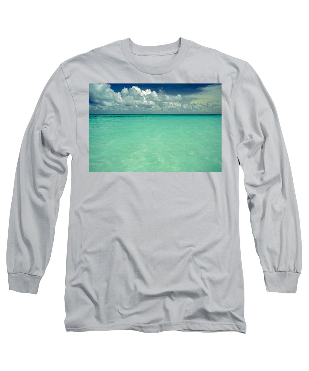Belize Long Sleeve T-Shirt featuring the photograph Heaven by Skip Hunt