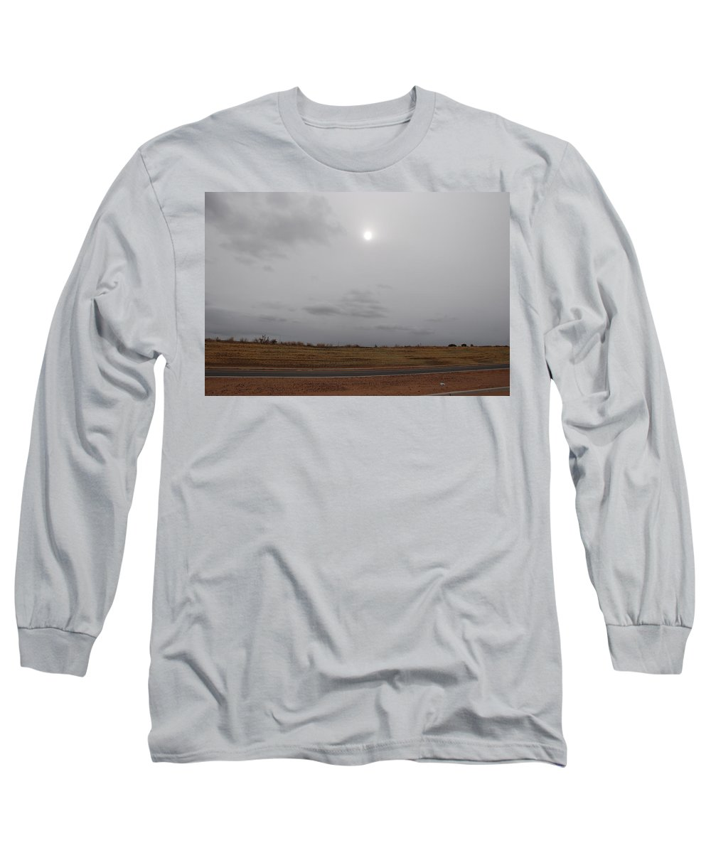 Desert Long Sleeve T-Shirt featuring the photograph Sunset In The Desert by Rob Hans