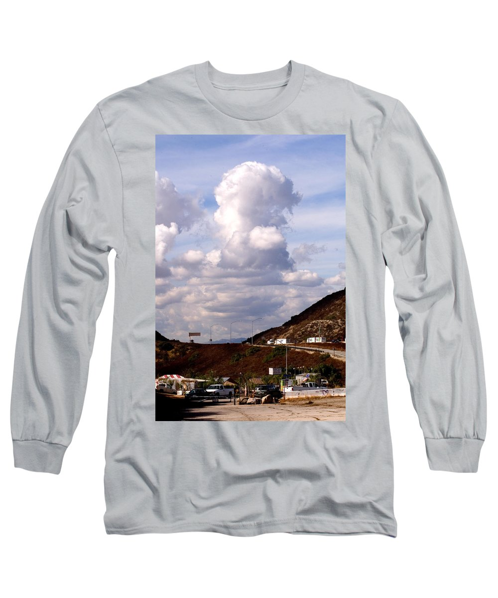 Clay Long Sleeve T-Shirt featuring the photograph Clouds by Clayton Bruster