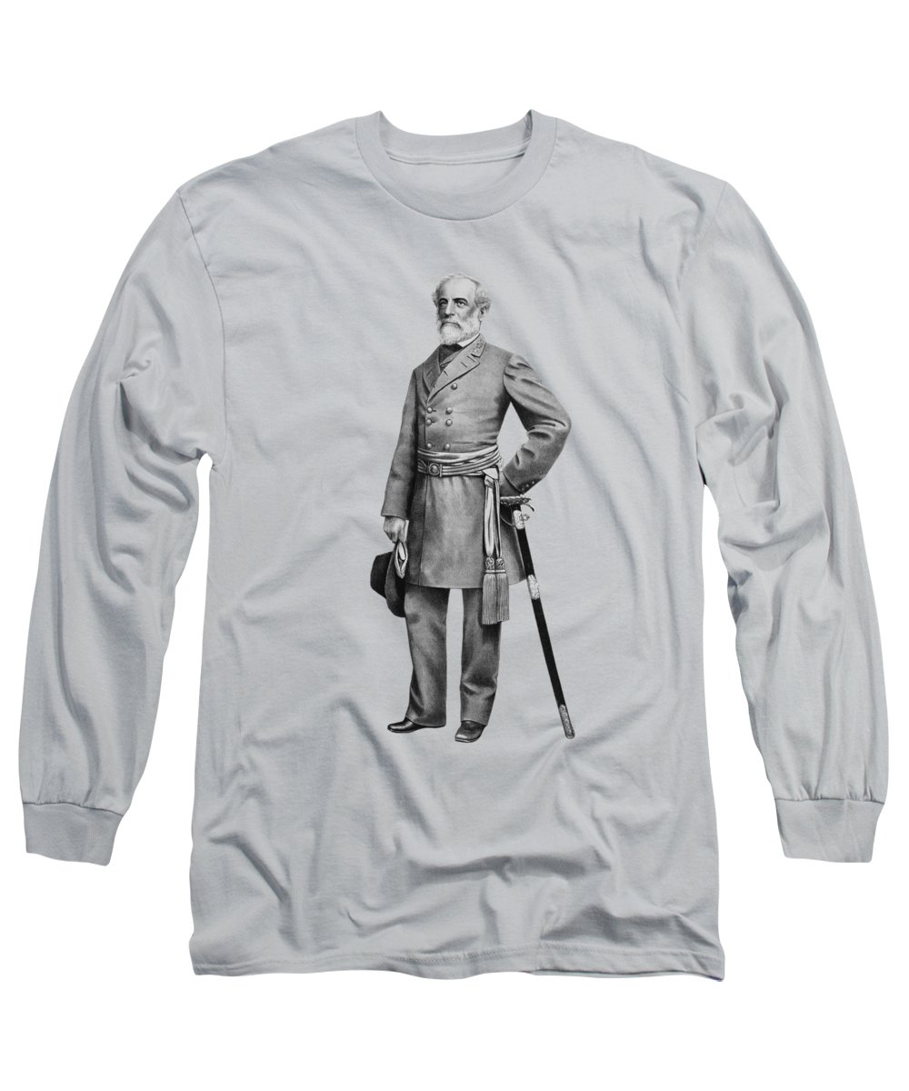 Robert E Lee Long Sleeve T-Shirts