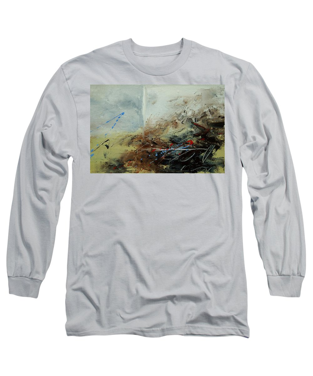 Abstract Long Sleeve T-Shirt featuring the print Abstract 070408 by Pol Ledent