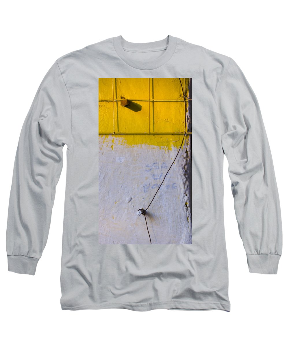 Abstract Long Sleeve T-Shirt featuring the photograph Amarillo by Skip Hunt