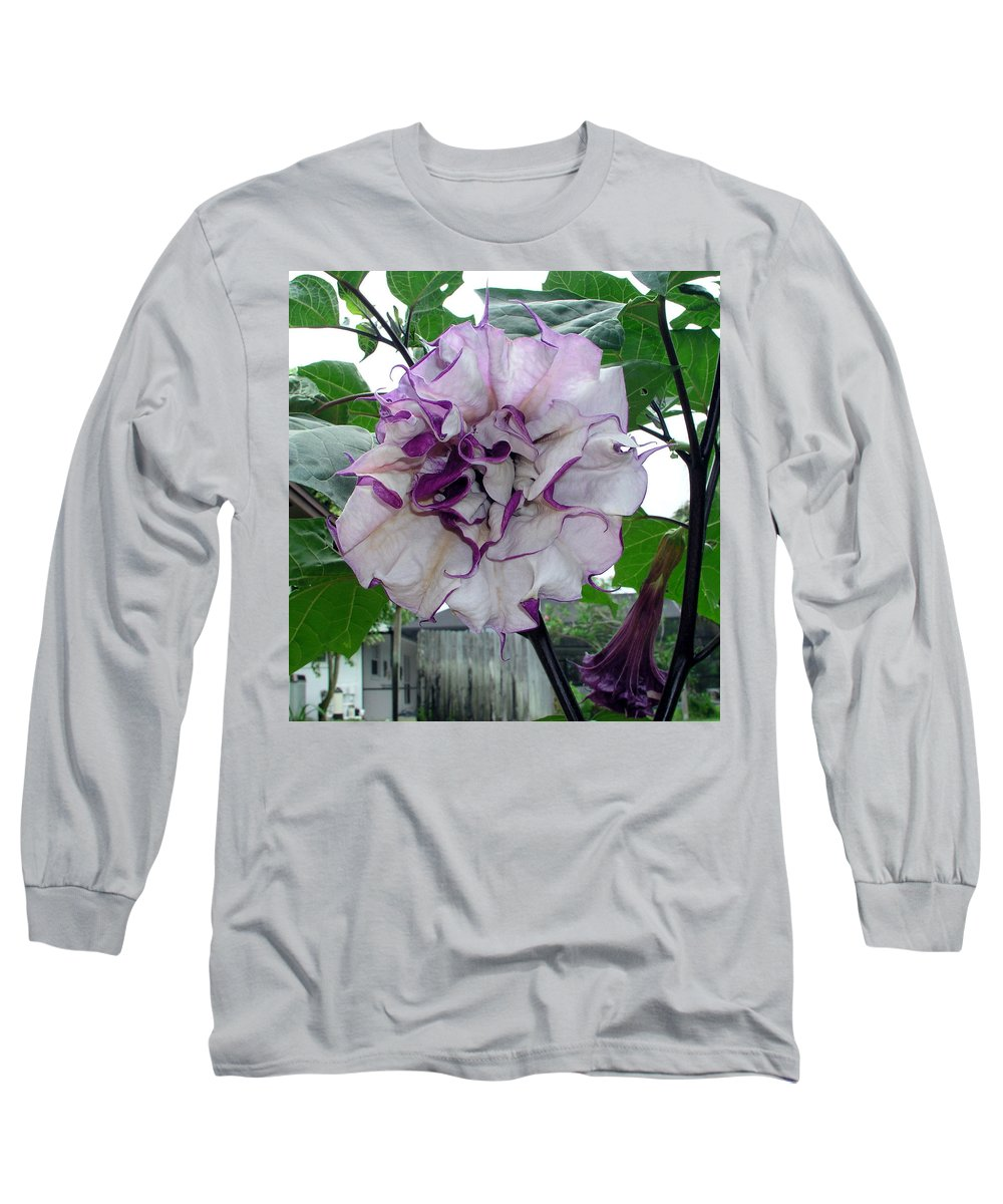 Angel Long Sleeve T-Shirt featuring the photograph Angel by Allan Hughes
