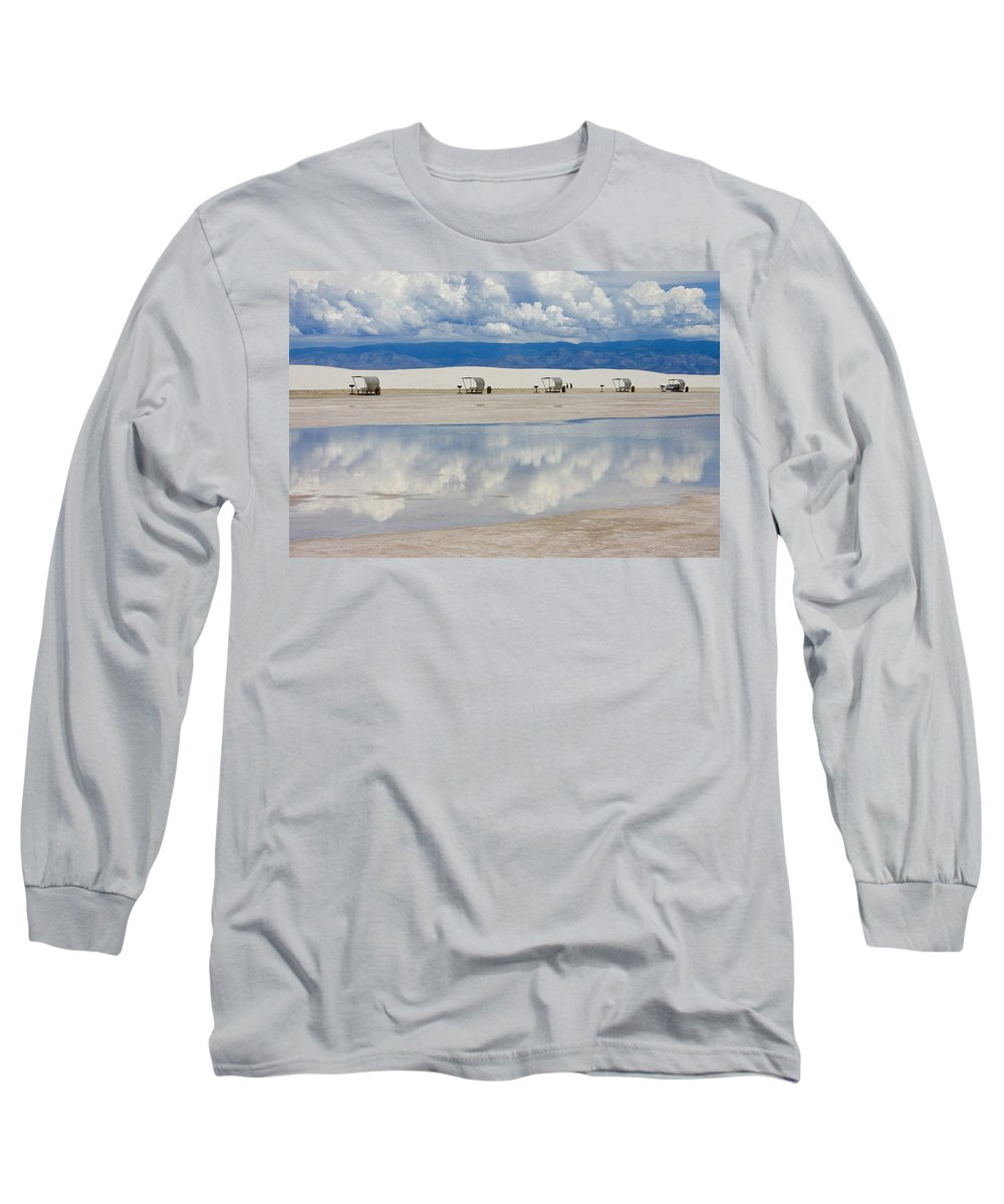 New Mexico Long Sleeve T-Shirt featuring the photograph Armageddon Picnic by Skip Hunt