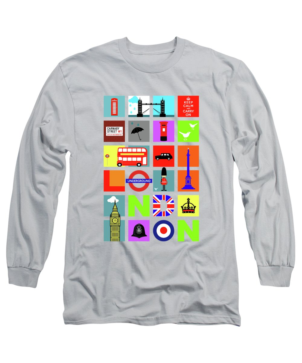London Long Sleeve T-Shirts