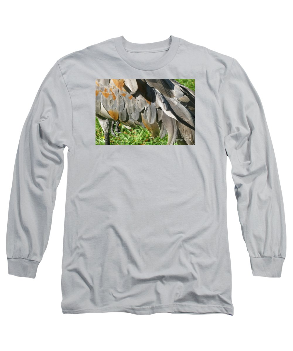 Bird Long Sleeve T-Shirt featuring the photograph Balancing Act by Ann Horn