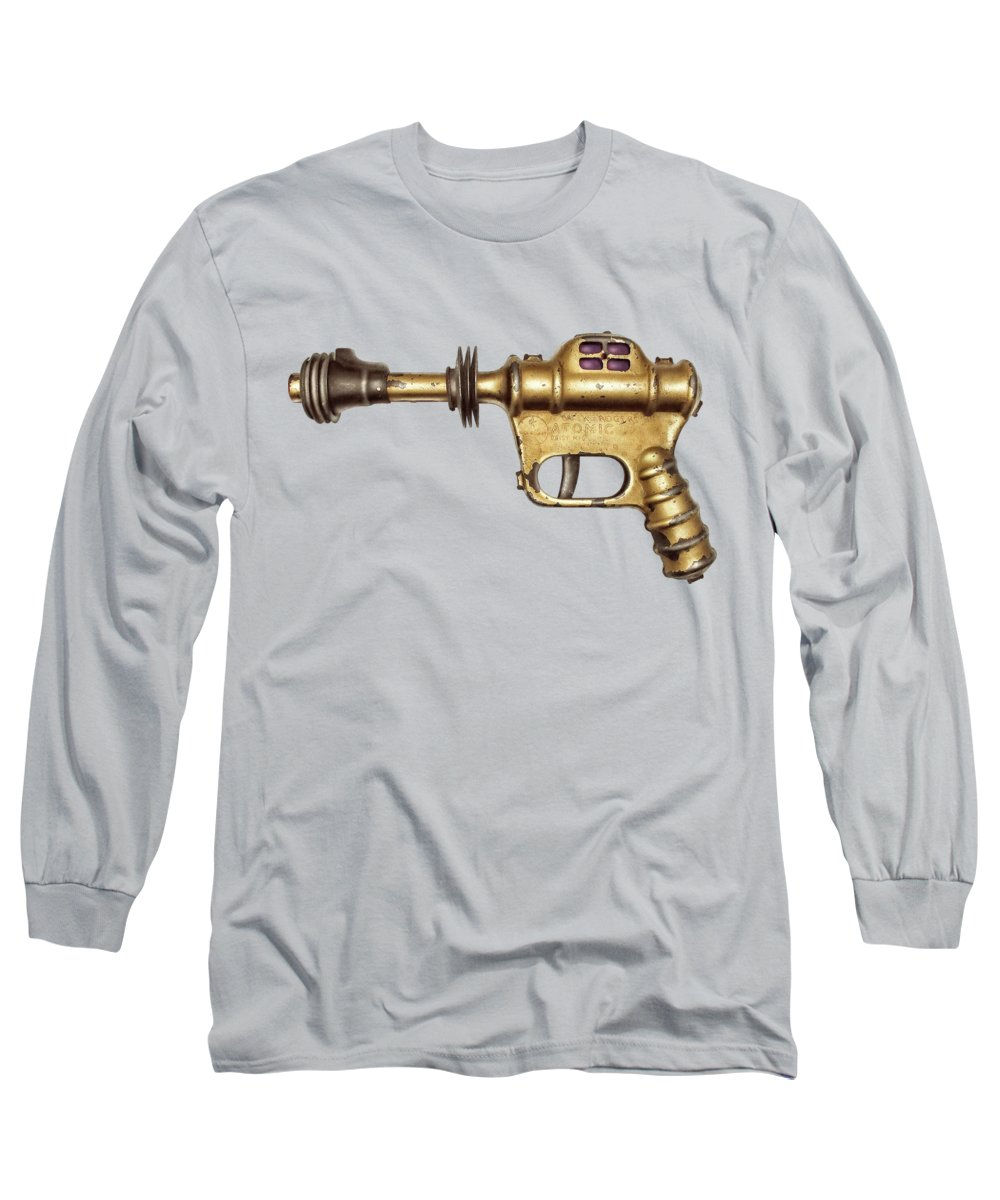 Art Long Sleeve T-Shirt featuring the photograph Buck Rogers Ray Gun by YoPedro