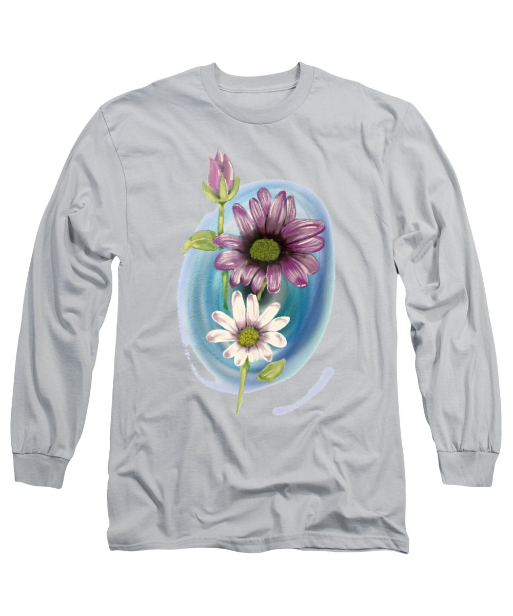Still Life Drawings Long Sleeve T-Shirts
