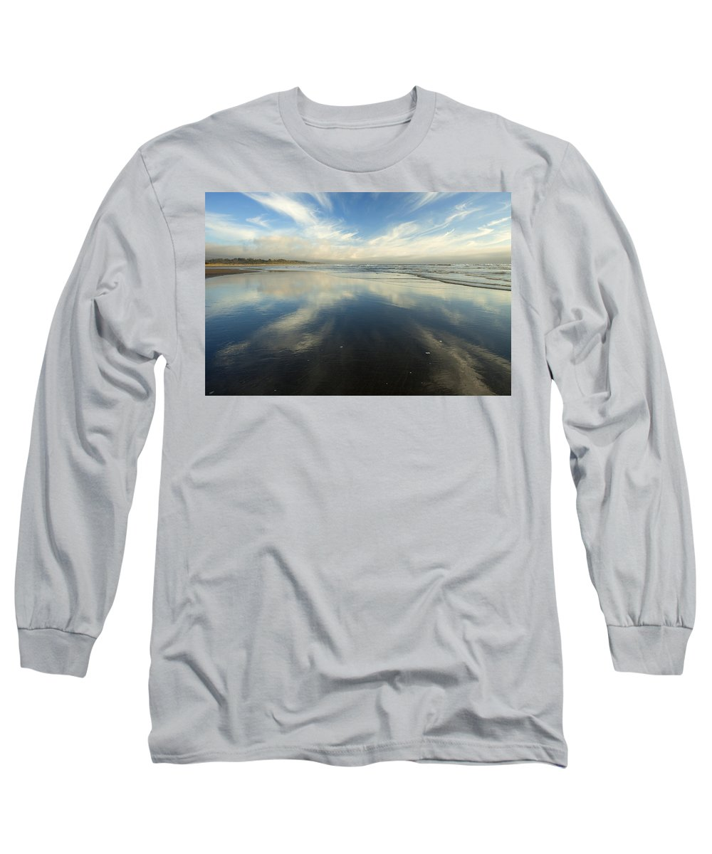 Cirrus Long Sleeve T-Shirt featuring the photograph California Cirrus Explosion by Mike Dawson