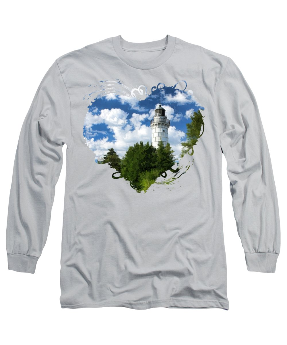 Lake Michigan Long Sleeve T-Shirts