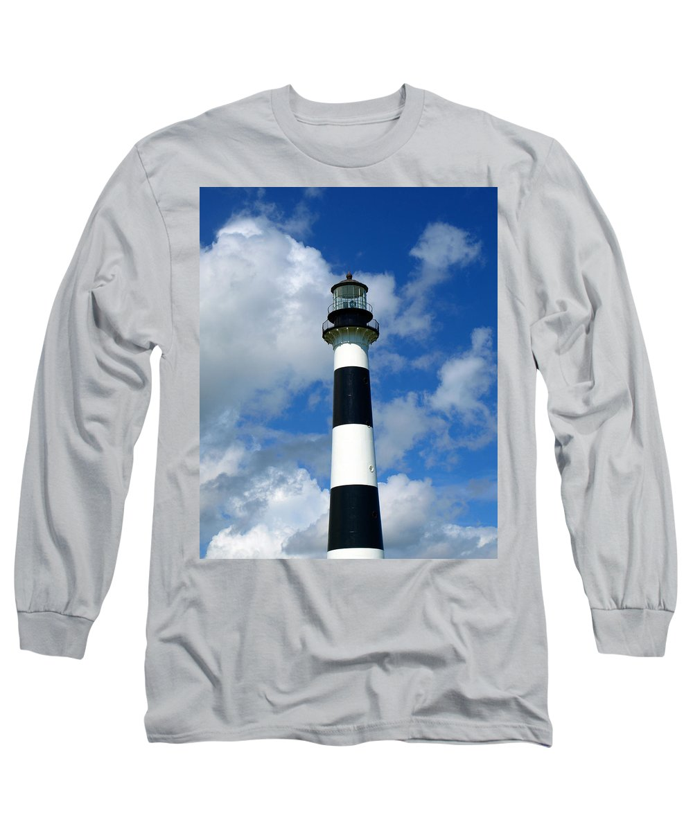Long Sleeve T-Shirt featuring the photograph Canveral Light by Allan Hughes
