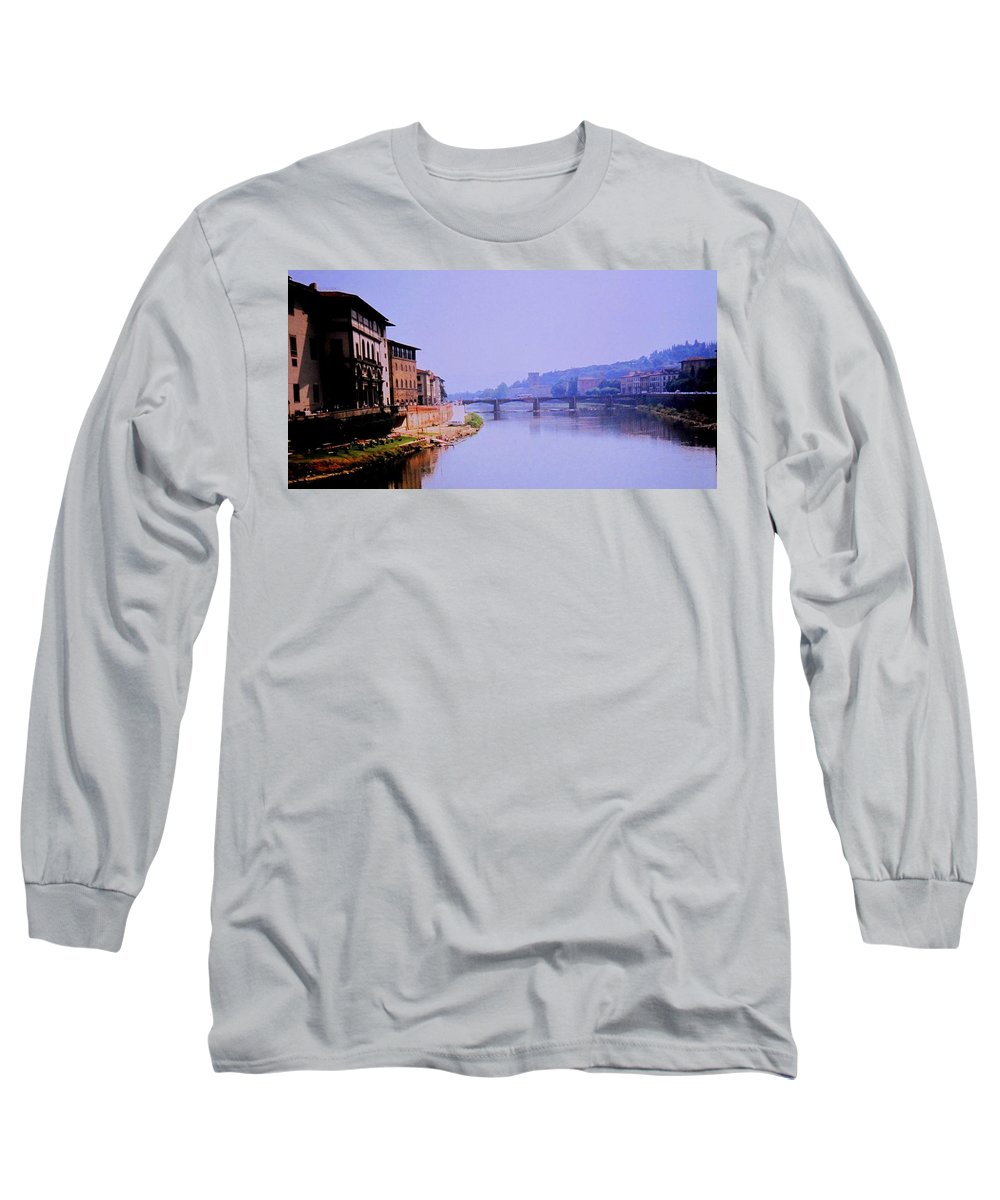 Florence Long Sleeve T-Shirt featuring the photograph Florence by Ian MacDonald