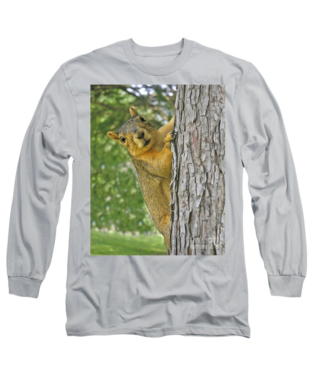 Nature Long Sleeve T-Shirt featuring the photograph Good Morning by Lucyna A M Green