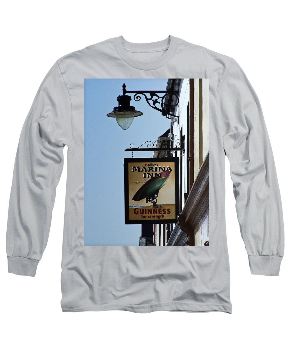 Irish Long Sleeve T-Shirt featuring the photograph Guinness For Strength Dingle Ireland by Teresa Mucha