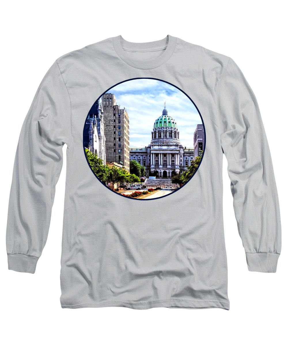 Capitol Building Long Sleeve T-Shirts