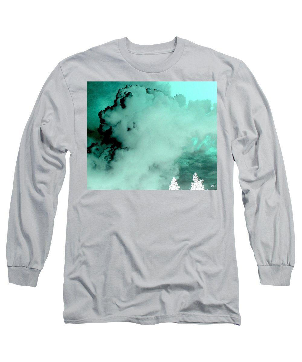 Impressions Long Sleeve T-Shirt featuring the digital art Impressions 10 by Will Borden