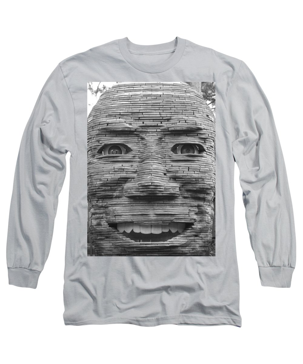 Architecture Long Sleeve T-Shirt featuring the photograph In Your Face by Rob Hans