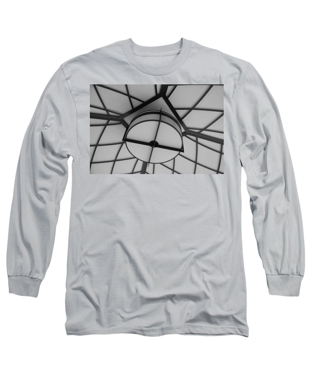 Architecture Long Sleeve T-Shirt featuring the photograph Lighted Box by Rob Hans