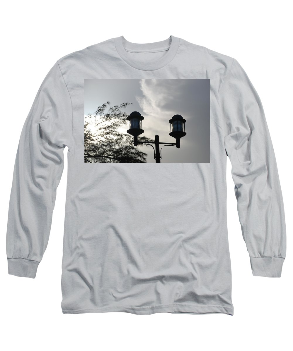 Sunset Long Sleeve T-Shirt featuring the photograph Lights In The Sky by Rob Hans
