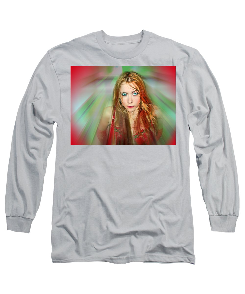 Women Long Sleeve T-Shirt featuring the photograph Looking At You by Francisco Colon
