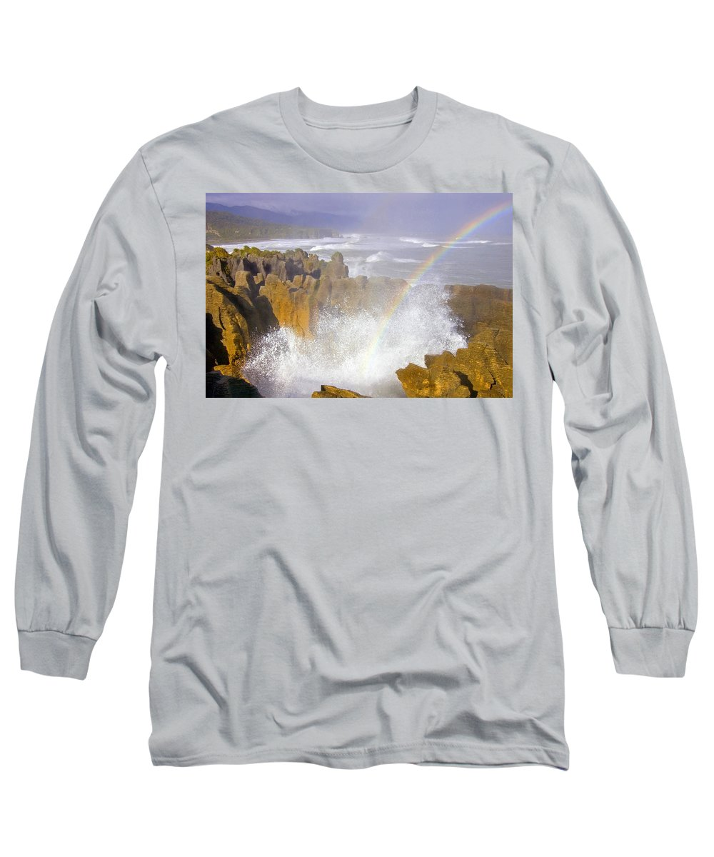 Paparoa Long Sleeve T-Shirt featuring the photograph Making Miracles by Mike Dawson