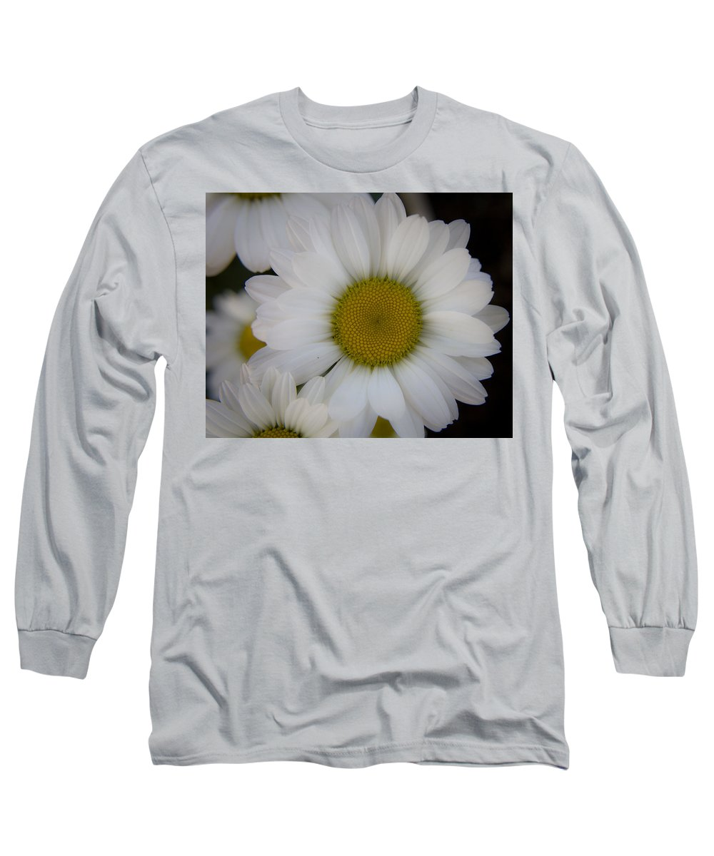 Marguerite Long Sleeve T-Shirt featuring the photograph Marguerite Daisies by Teresa Mucha