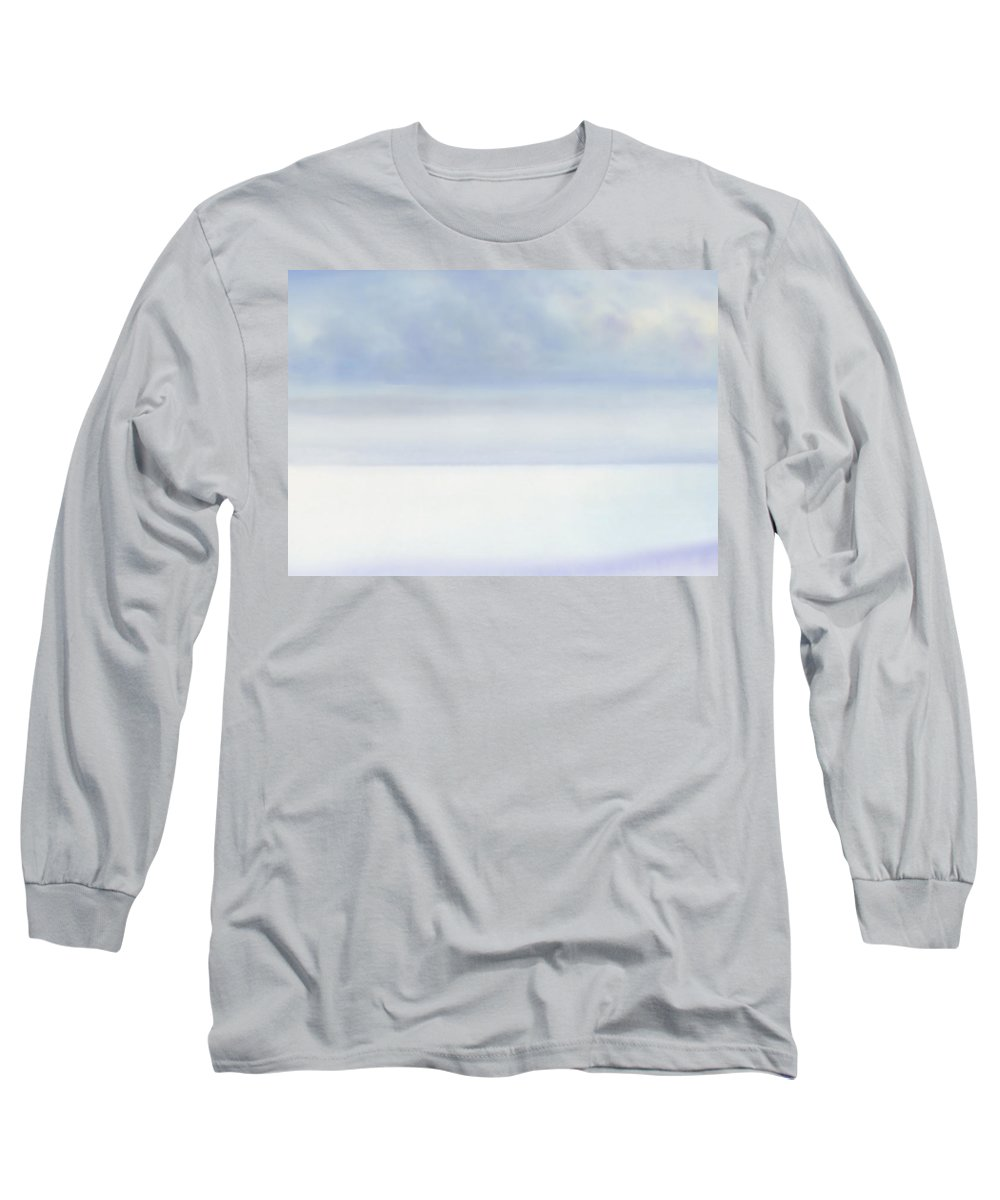 Moana Pearl Long Sleeve T-Shirt featuring the painting Moana Pearl 2 by Kevin Smith