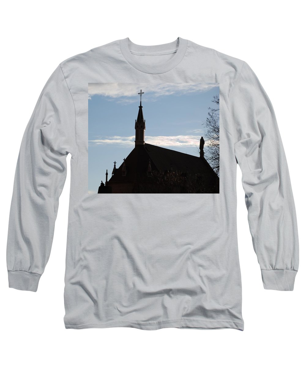 Church Long Sleeve T-Shirt featuring the photograph New Mexican Church by Rob Hans
