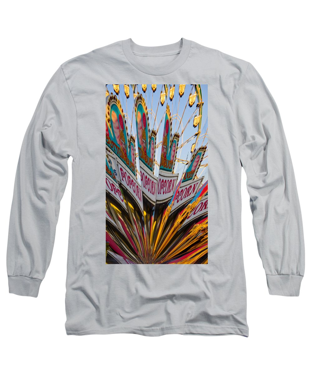 Concession Stand Long Sleeve T-Shirt featuring the photograph Popcorn by Skip Hunt