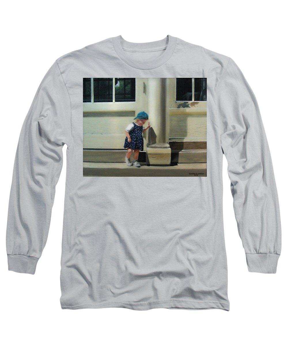 Children Long Sleeve T-Shirt featuring the painting Rachel by Kenneth M Kirsch