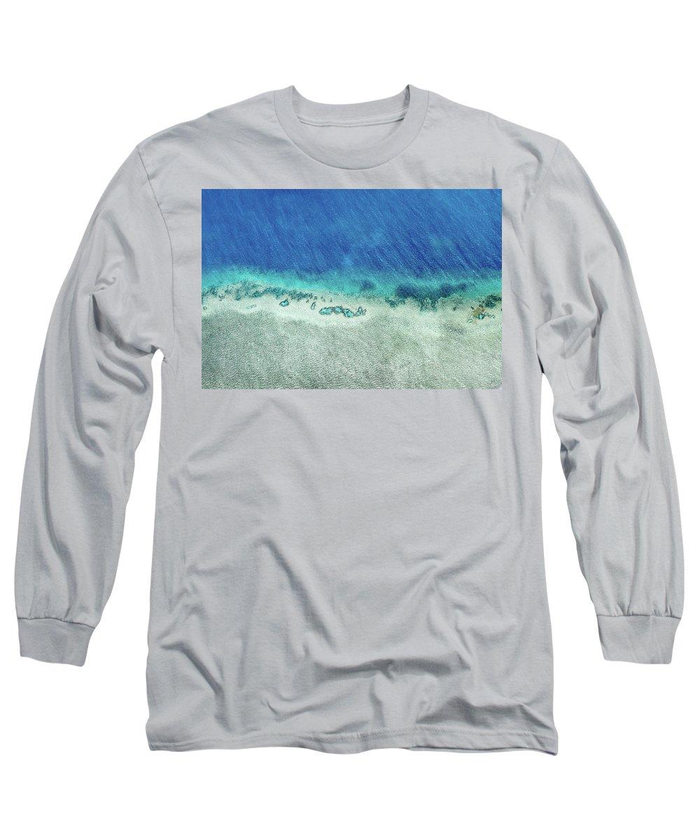 Australia Long Sleeve T-Shirt featuring the photograph Reef Barrier by Az Jackson