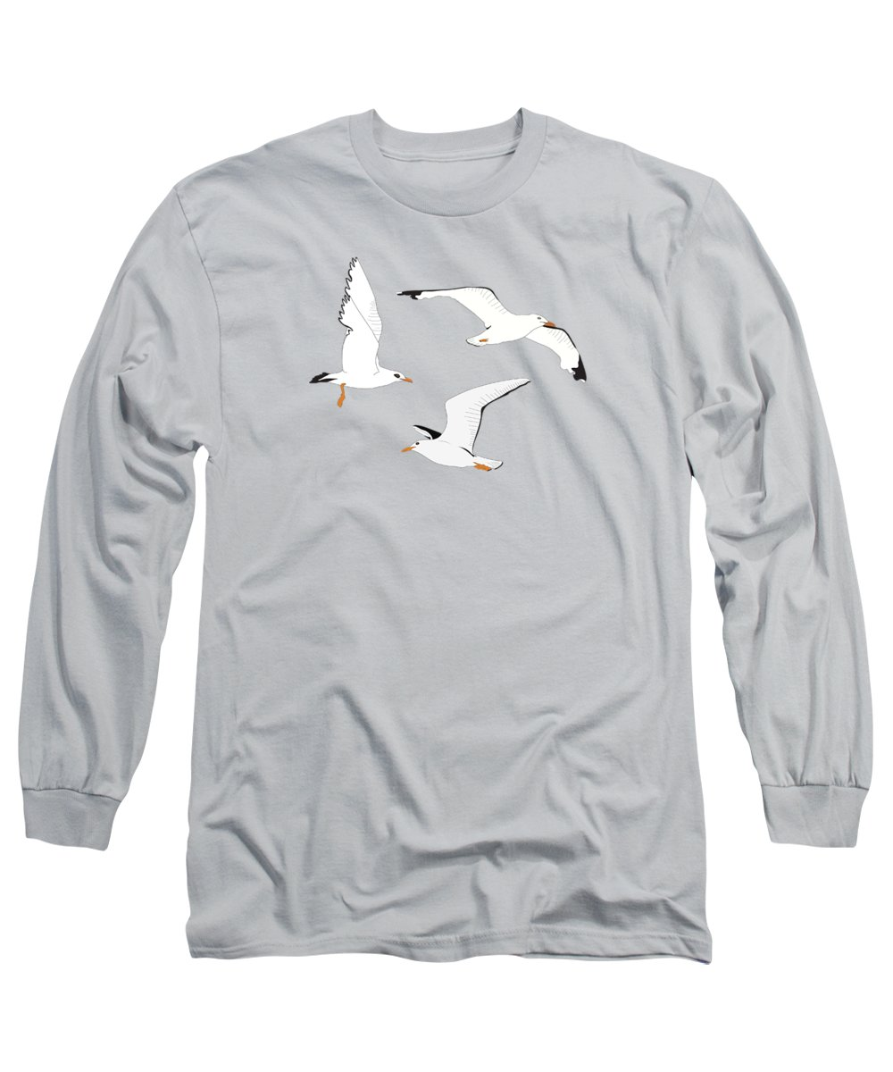 Seagull Long Sleeve T-Shirts