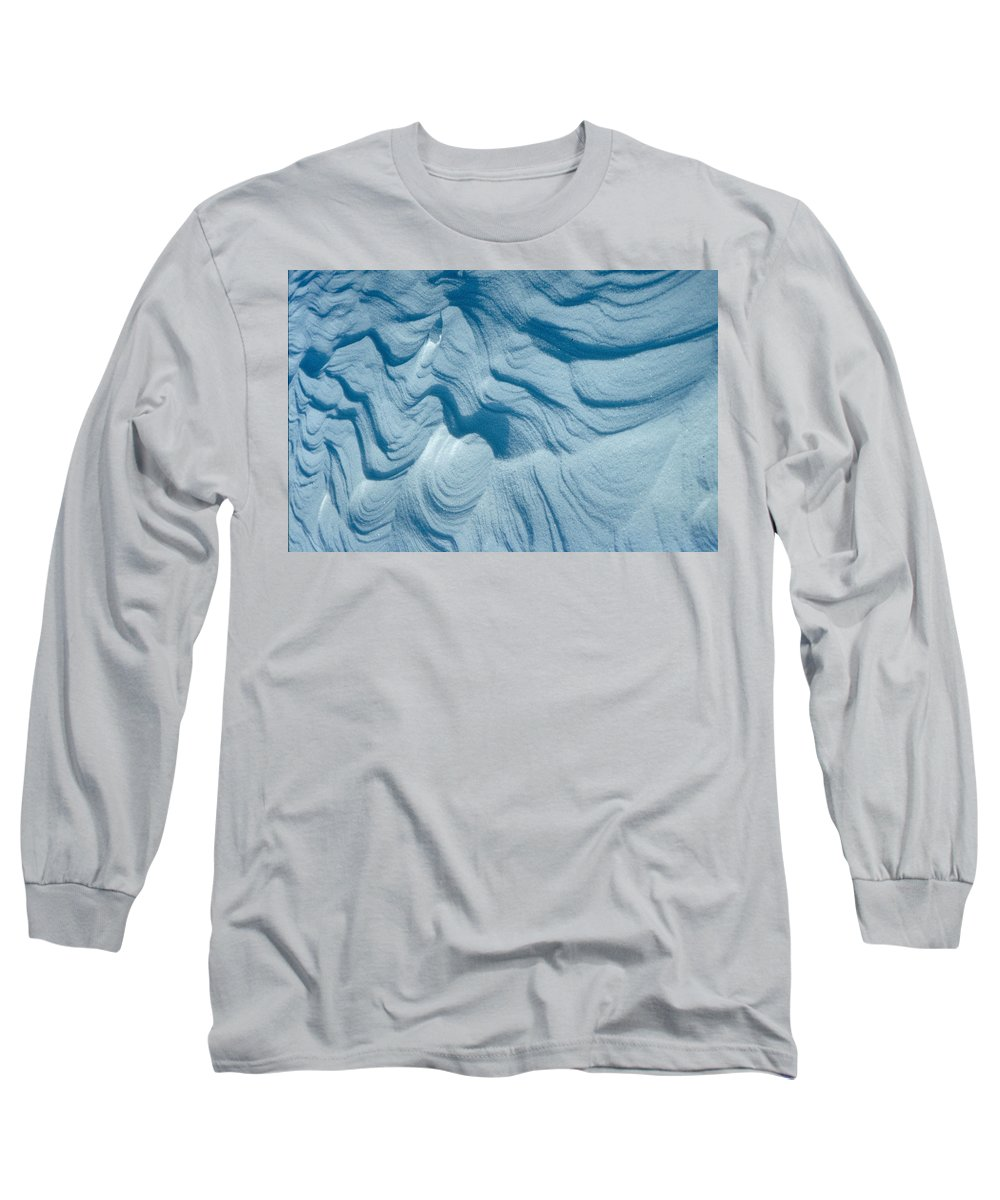Snow Long Sleeve T-Shirt featuring the photograph Snow by Flavia Westerwelle