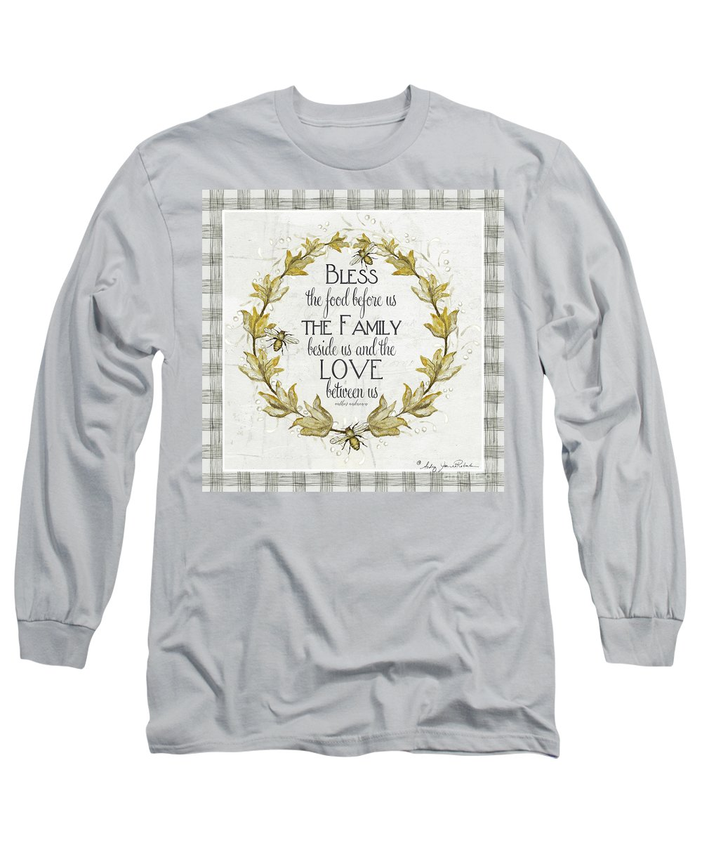 ea085c6c5 Bless The Food Long Sleeve T-Shirt featuring the painting Sweet Life  Farmhouse 4 Laurel