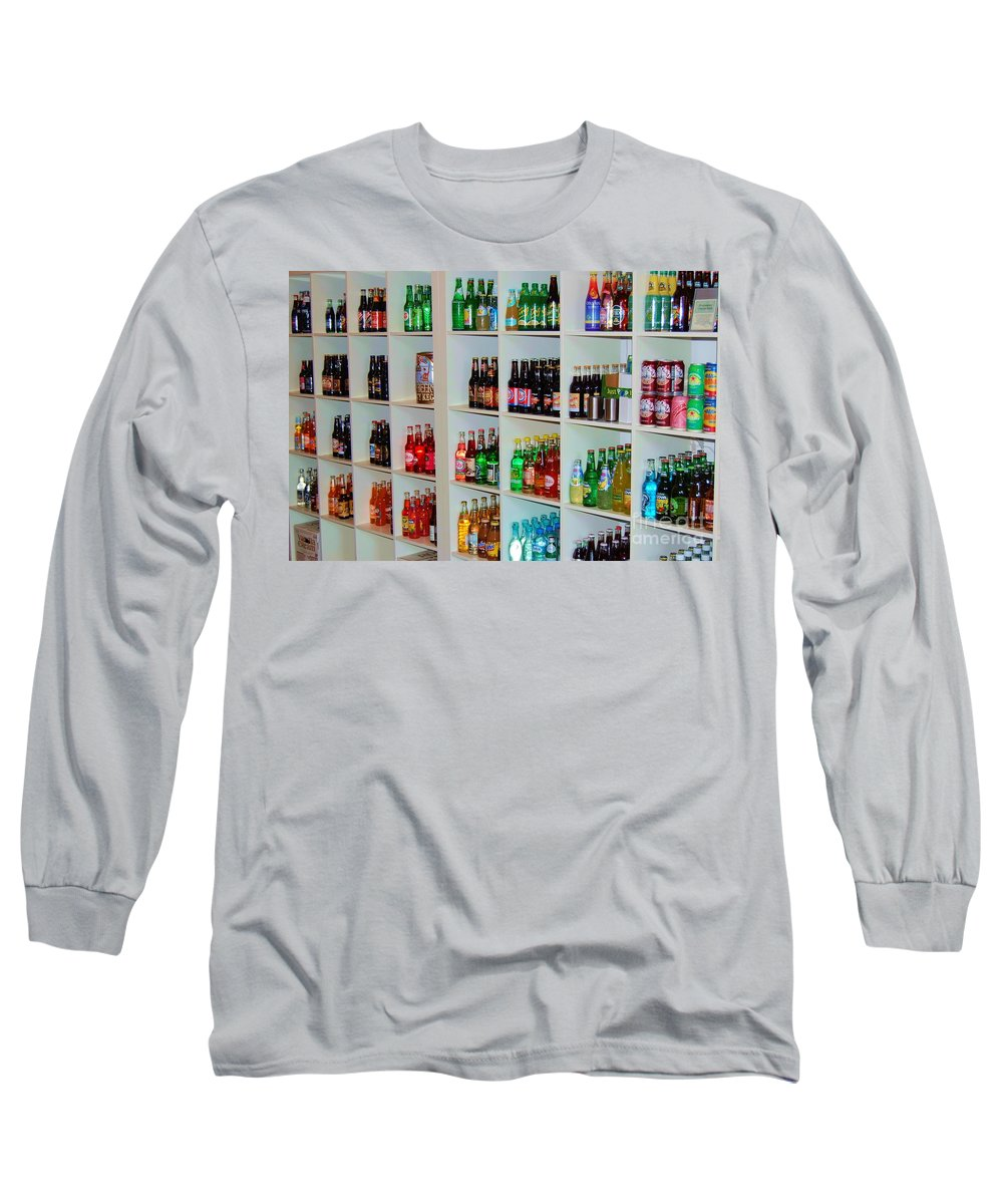 Soda Long Sleeve T-Shirt featuring the photograph The Soda Gallery by Debbi Granruth