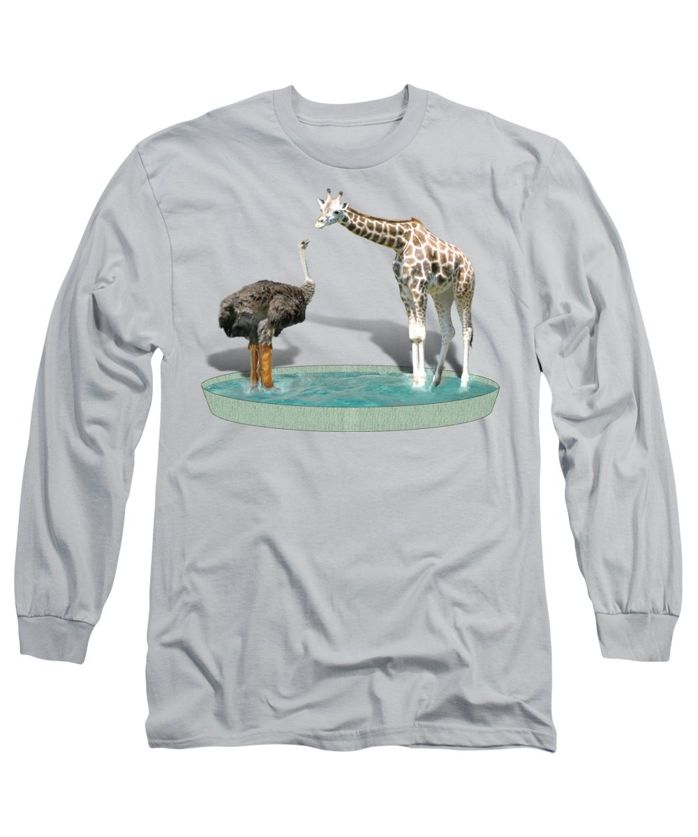 Ostrich Long Sleeve T-Shirts
