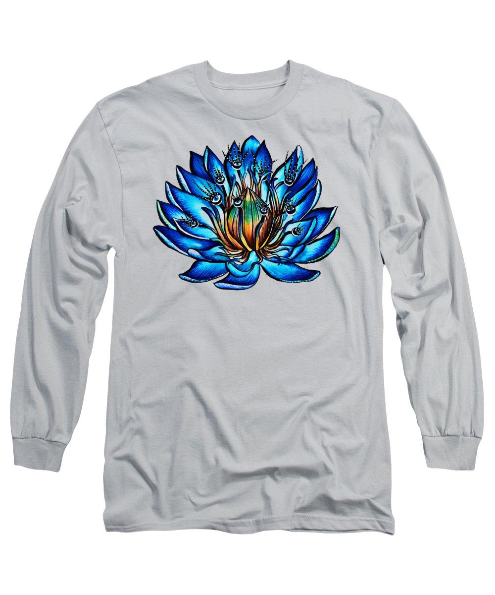 Botany Drawings Long Sleeve T-Shirts