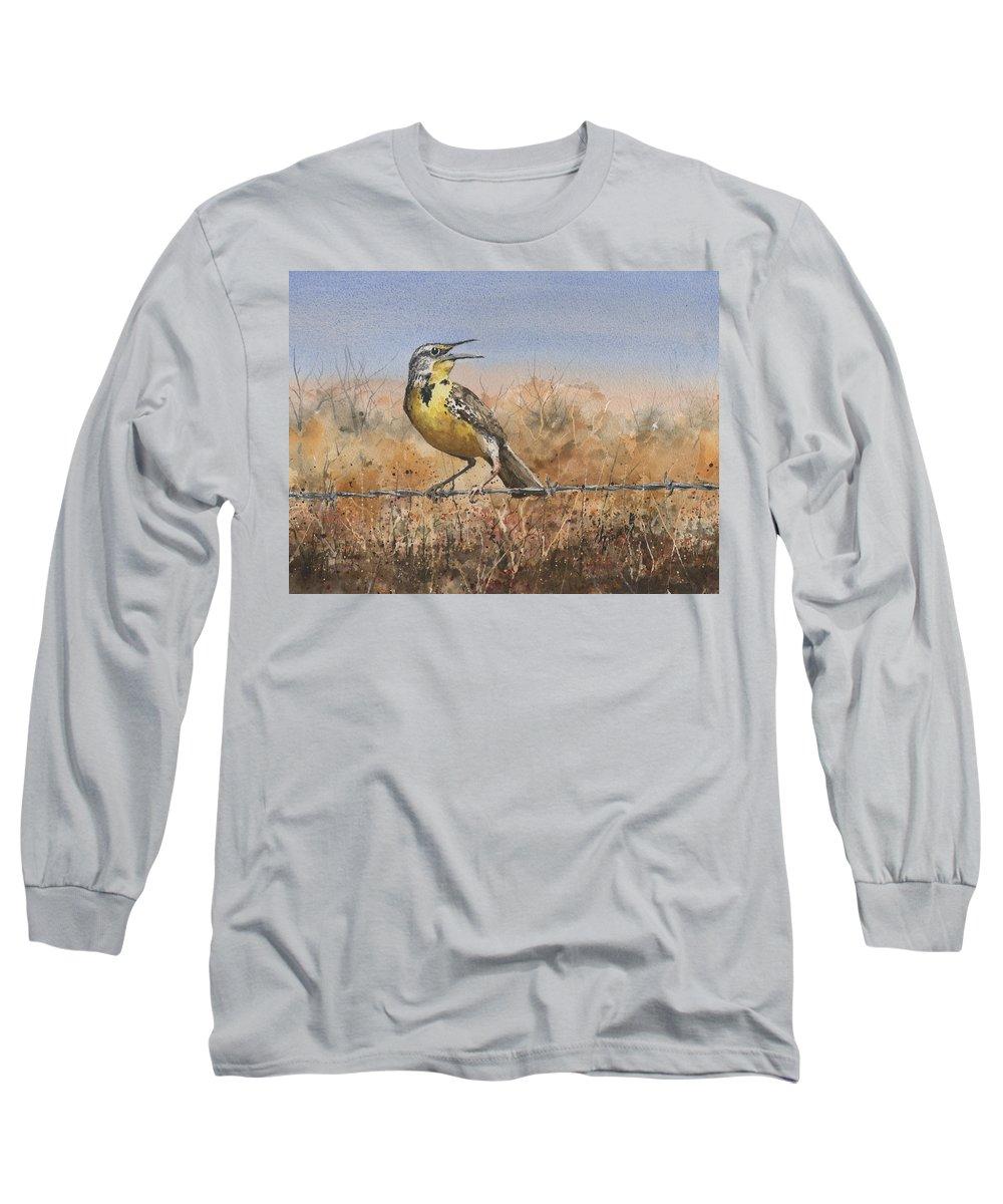 Meadowlark Long Sleeve T-Shirts