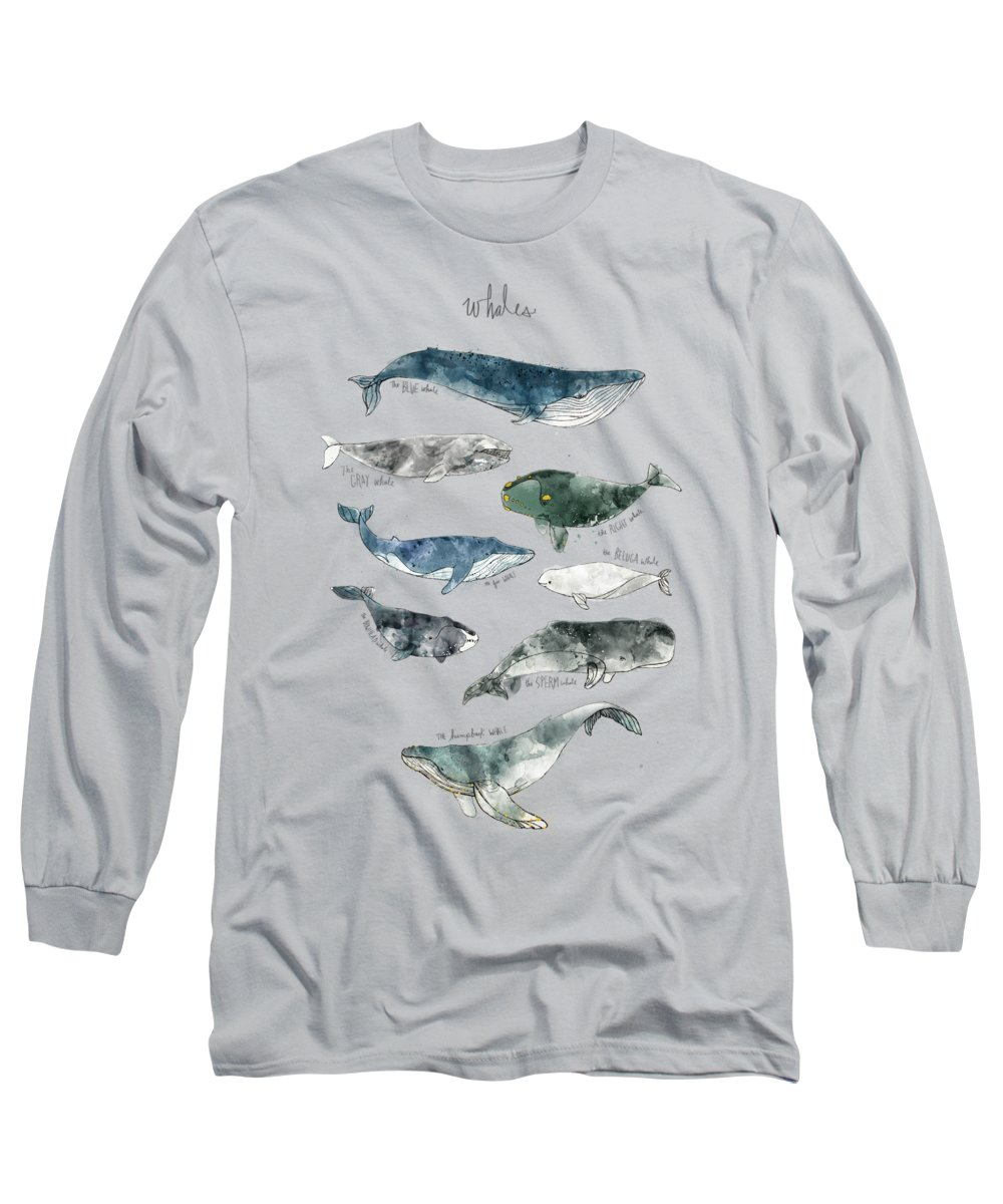 Whale Long Sleeve T-Shirts