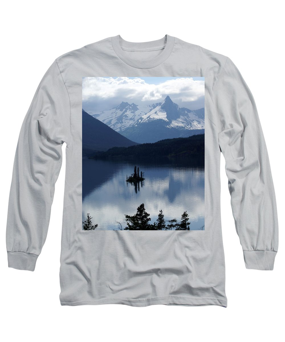 Wild Goose Island Long Sleeve T-Shirt featuring the photograph Wild Goose Island by Marty Koch
