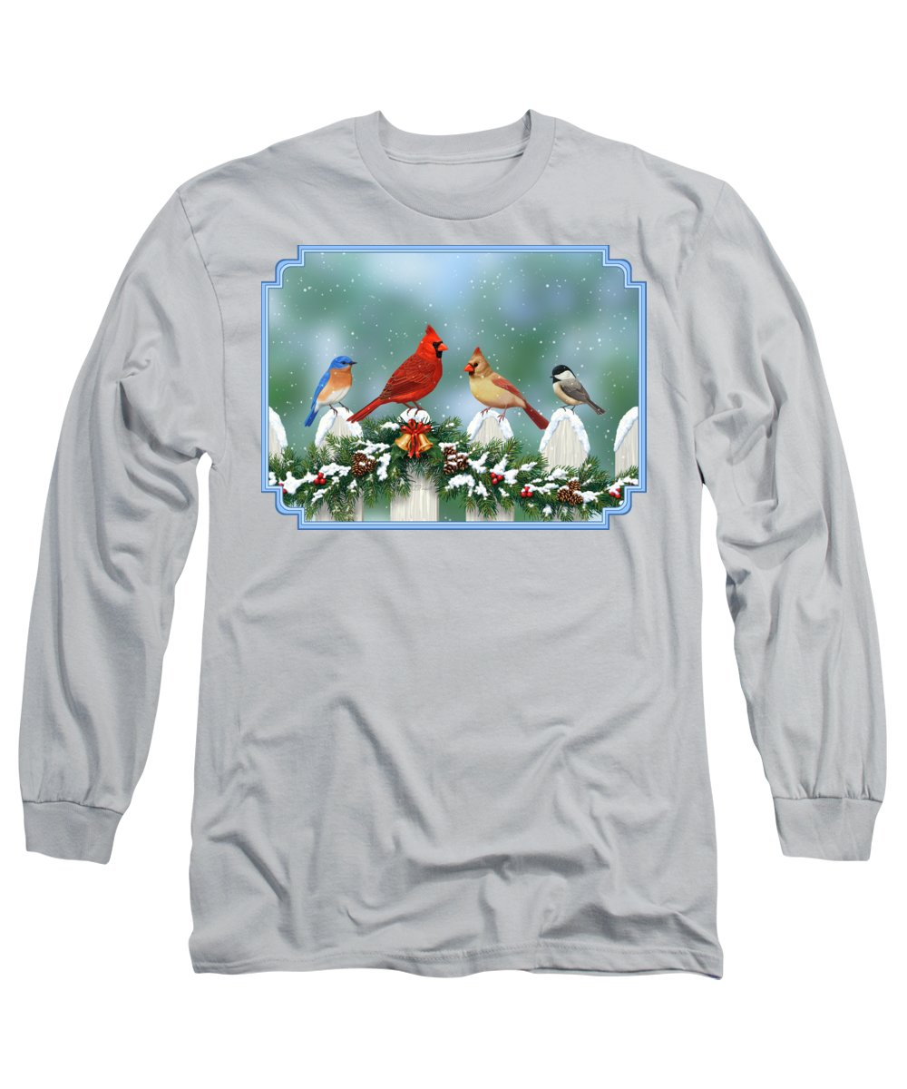 Cardinal Long Sleeve T-Shirts