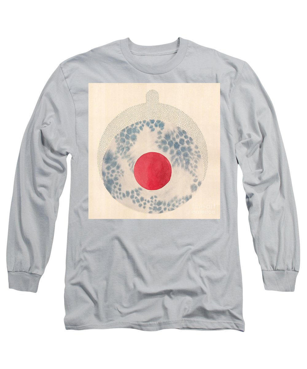 Art Long Sleeve T-Shirt featuring the drawing Trinity D by Ana Markovic