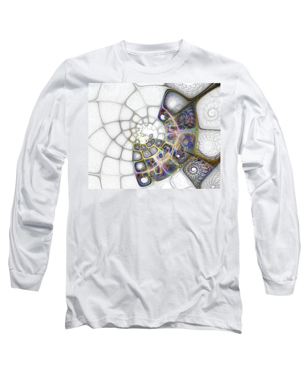 Digital Art Long Sleeve T-Shirt featuring the digital art Memories by Amanda Moore